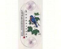 Bluebird Maple Window Thermometer-ASPECTS203
