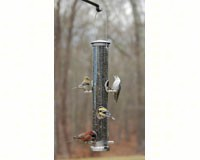 Seed Tube Large Brushed Nickel Quick Clean Base-ASPECTS393