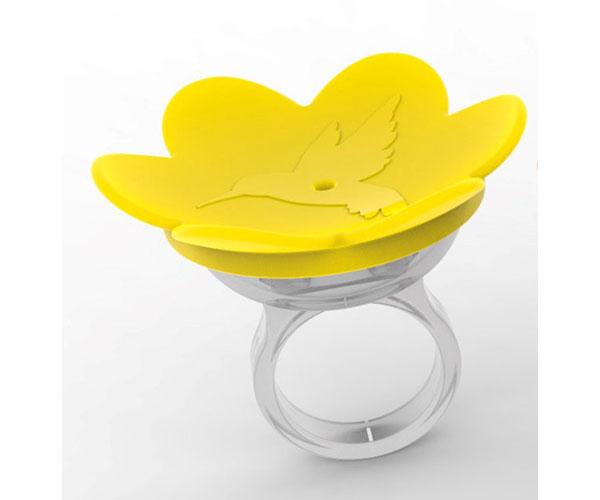 Hummer Ring- Yellow