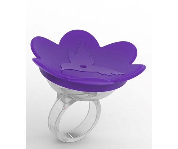 Hummer Ring- Purple