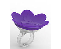 Hummer Ring- Purple-BE104