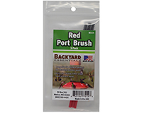 Red Port Brush (3 pack)-BE121