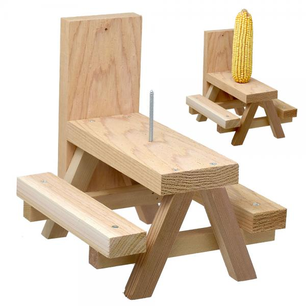Build a Squirrel Picnic Table Kit