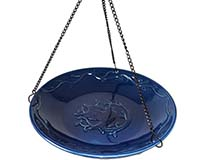 Bluebird Ceramic Hanging Bird Bath-BE801