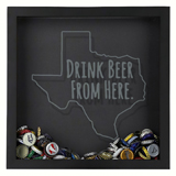 Shadow Box Texas - Drink Beer-BCSBDBFHTX