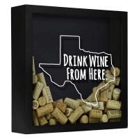 Shadow Box Texas - Cork Holder-BCSBDWFHTX