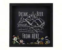 Shadow Box Rocky Mountain - Beer Cap Trap-BCSHADBOXDWFHRT