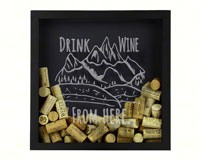 Shadow Box Rocky Mountain - Cork Holder-BCSHADBOXROCKMT
