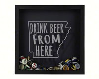 Shadow Box Arkansas - Beer Cap Trap-BCTSHADBOXTYPAR