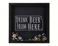 Shadow Box Kansas - Beer Cap Trap-BCTSHADBOXTYPKS