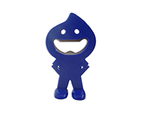 ABO Blue Dude - Bottle Openers-ABOBLUEDUDE