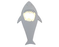 Grey Shark - Bottle Opener-ABOGREYSHARK