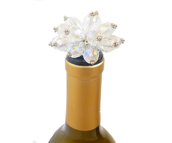 ABS Clear Bouquet - Bottle Stoppers
