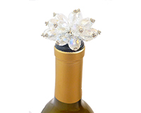 ABS Clear Bouquet - Bottle Stoppers ABSCLEARBOUQUET