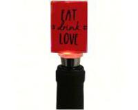ABS Eat Drink Love Wine Bottle Stopper ABSEATDRINKLOVE