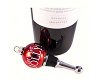 ABS Jolly -  Holiday Bottle Stoppers-ABSJOLLY