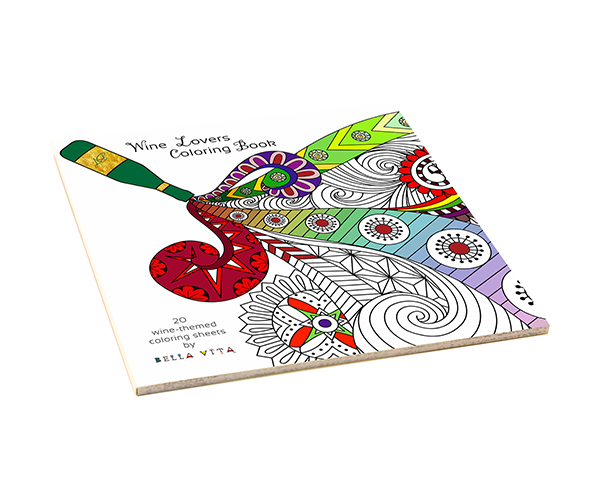 ACB Wine Wine Coloring Books