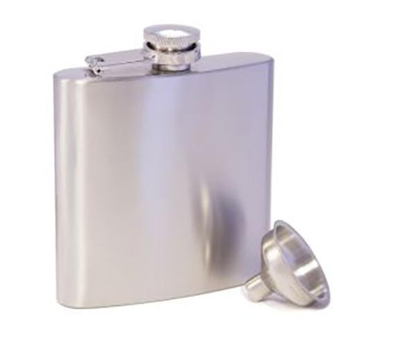 AF6 Steel Stainless Steel Flask AF6STEEL'