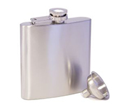Steel Stainless Steel Flask 6oz.-AF6STEEL