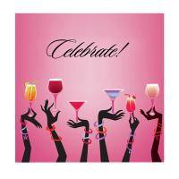 AN-P Celebrate - Decorative Napkin Sets-AN-PCELEBRATE