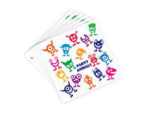AN-W Party Animals - Decorative Napkin Sets AN-WPARTYANIMAL