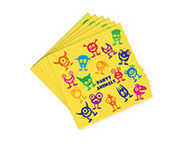 AN-Y Party Animals - Decorative Napkin Sets AN-YPARTYANIMAL