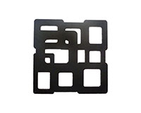 AWC Black Cubes - Wine Coaster Sets AWCBLACKCUBES