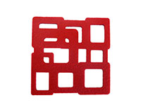AWC Red Cubes - Wine Coaster Sets AWCREDCUBES
