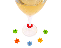 AWM Flowers - Wine Marker Sets-AWMFLOWERS