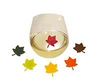 AWM Leaves - Wine Marker Sets-AWMLEAVES
