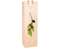 Handmade Paper Olive Oil Bottle Bag - Branch-BB1-NBRANCH
