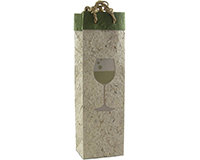 Handmade Paper Wine Bottle Bag - Chardonnay-BB1CHARDONNAY