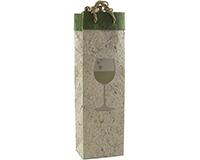 BB1 Chardonnay - Handmade Paper Single Bottle Bags BB1CHARDONNAY