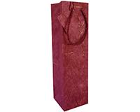 BB1 GT Burgundy - Handmade Paper Bottle Bags BB1GTBURGUNDY