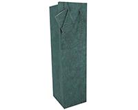 BB1 GT Green - Handmade Paper Bottle Bags BB1GTGREEN