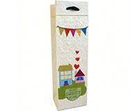 Handmade Paper Wine Bottle Bag -