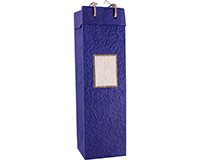 Handmade Paper Wine Bottle Bottle Bag - Menorah-BB1MENORAH