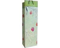 BB1 PF Mint  - Handmade Paper Bottle Bags BB1PFMINT