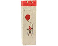 BB1 Pooch - Handmade Paper Wine Bags BB1POOCH