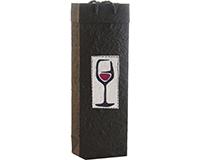 BB1 Red Wine - Handmade Paper Bottle Bags BB1REDWINE