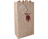 BB2 Chili - Handmade Paper Two Bottle Bags-BB2CHILI