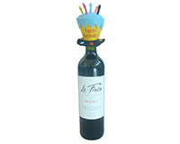 BT Birthday Hat - Bottle Toppers-BTBIRTHDAY