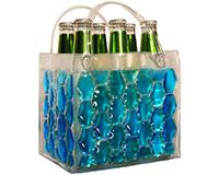 Chill It - 6 Bottle Insulated Bottle Bag - Blue-CHILLIT6BLUE