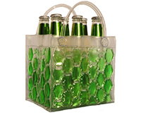 Chill It - 6 Bottle Insulated Bottle Bag - Green-CHILLIT6GREEN