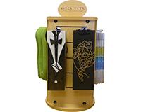 Bella Vita Display Rack - Counter Model (Wood Rack)-COUNTERWOOD