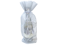 CS Silver - Silver Sheer Cloth Bags-CSSILVER