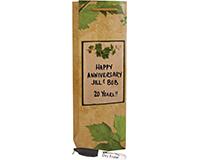 Personalize It! Wine Bag - Parchment-DE1PARCHMENT