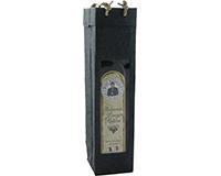OB1 Black - Handmade Paper Olive Oil Bottle Bags OB1BLACK
