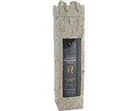 OB1 Natural - Handmade Paper Olive Oil Bottle Bags OB1NATURAL