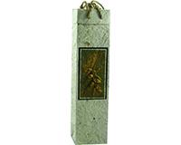 OB1 Verona Natural - Handmade Paper Olive Oil Bottle Bags OB1VERONANATURA